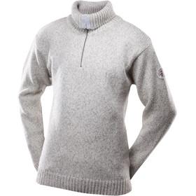 Devold Nansen Sweater Zip Neck Unisex Grey Melange